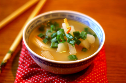 Chinese Daikon Soup