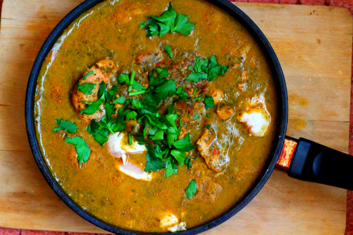 Indian Chicken Saag